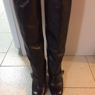 Authentic Chanel Boots Size 37