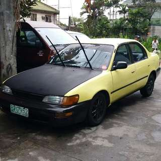 toyota corolla 97 model xl