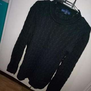Black Knit Longsleeves
