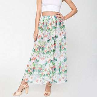 AMERICAN APPAREL Chiffon Skirt