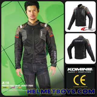 New Arrival KOMINE Riding Mesh Jacket with protector pads
