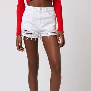 TOPSHOP MOTO Mom Shorts