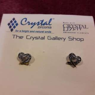 Crystal Zirconia Earrings