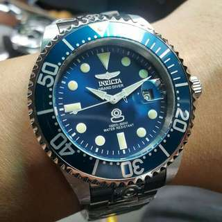 INVICTA機械潛水錶