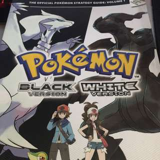 Official Pokémon Black & White Strategy Guide Vol 1