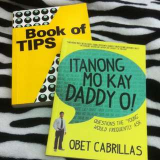 Book Of Tips & Itanong Mo Kay Daddy O!
