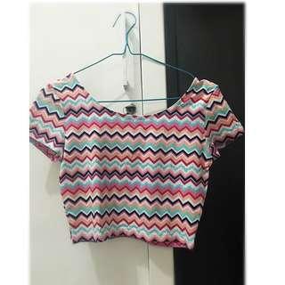 H&M Crop Top Shirt