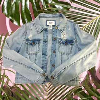 Forever 21 Semi-Cropped Denim Jacket
