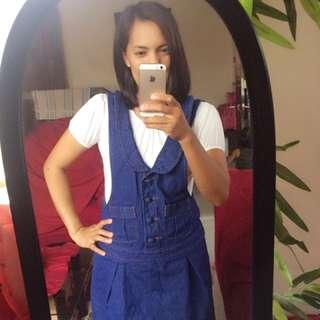 Maong Jumper Dress