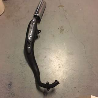 Yamaha rxz Exhaust Pipe(local)