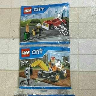 Lego City Polybag 30312 / 30347