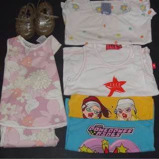 Pumpkin Patch/Elle Girls Mixed Clothing Lot Size 0