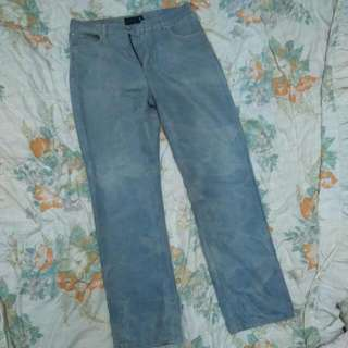 Spencer Playboy Bleached Long Jeans