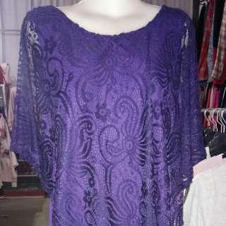 dress infocus purple renda