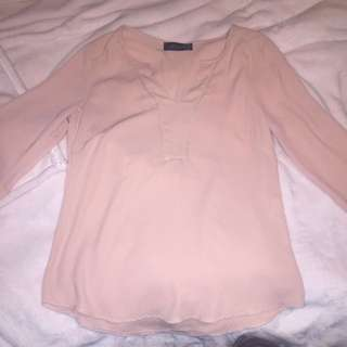 Pink Long Sleeve Dress Shirt