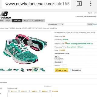 New Balance NB Running Shoes