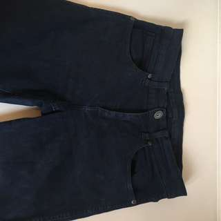 DR. DENIM Navy Blue High Waisted Skinny Jeans