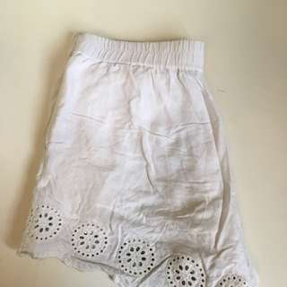 SPORTSGIRL White Beach Shorts