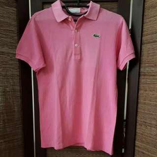 Polo Shirt Woman LACOSTE (ORI) - Pink