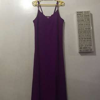 Coco Cabana Rich Violet Long Dress