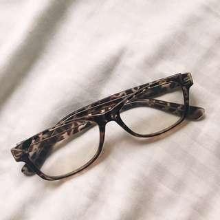 Geek style fashion eyeglasses.