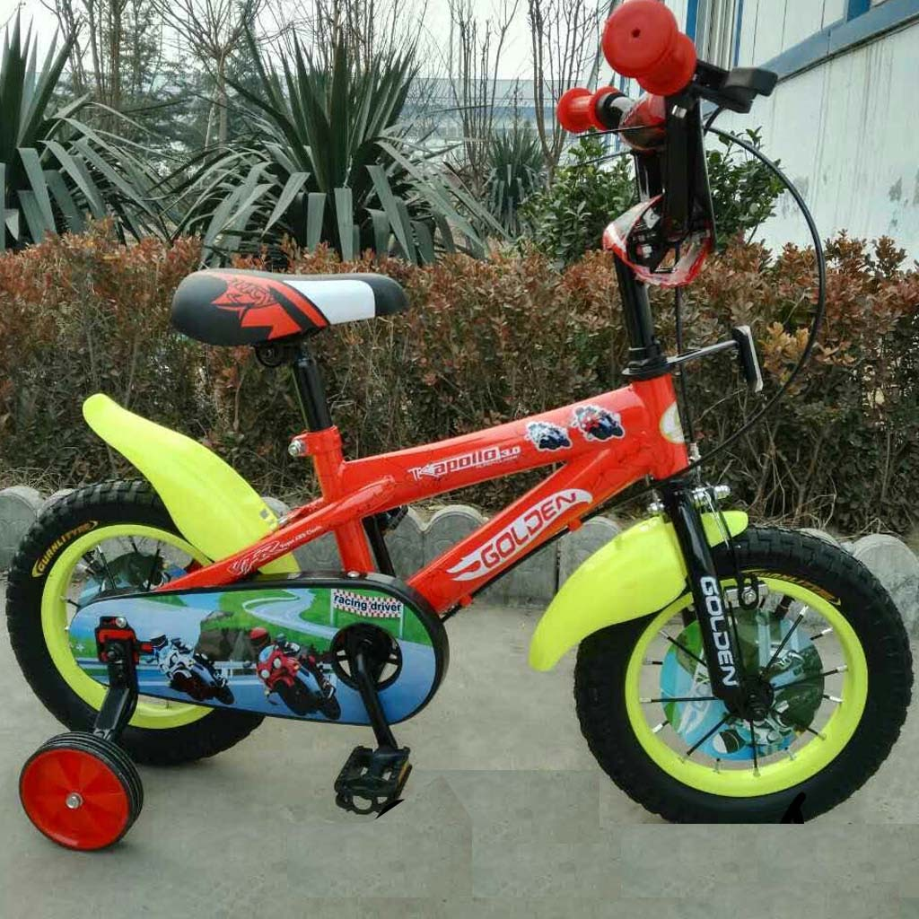 12in Golden Apollo BMX Sepeda Anak Laki-Laki Usia 2 - 4 Tahun
