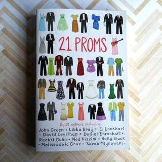 21 proms teen novel English books