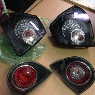 Golf Gti Tsi Mk5 Led Euro Tail Lights