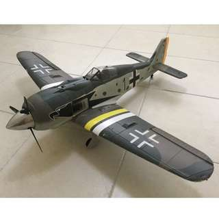 rc warbird plane - WWII German fighter plane Fockewulf  FW-190