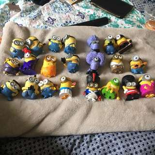 Assorted Collectable Minions