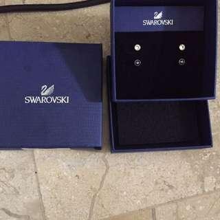 Two Set Swarovski Earrings