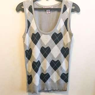 H&M Women's Argyle Vest