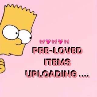 Pre-loved Items 🌸💓