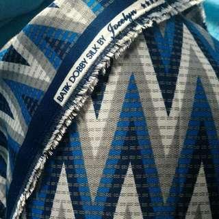 kain batik silk