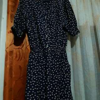 Shopaholic Polkadot Dress