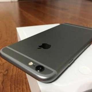Iphone 6 Space Gray 32gb Factory unlock
