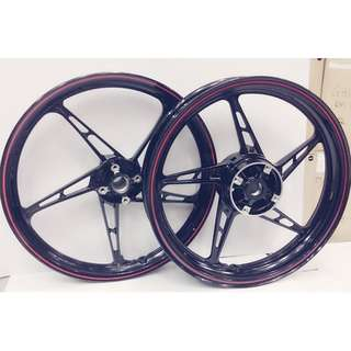 Yamaha LC 135 Sport Rim with Two Disc img
