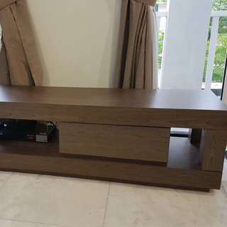 meja tv table or side long table