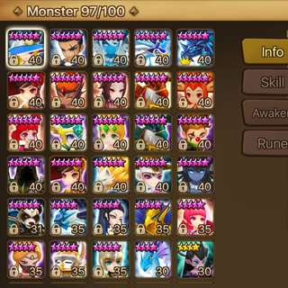 Summoners War Global Acc