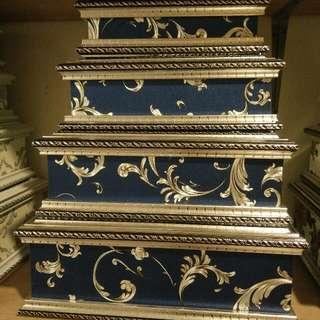 kotak hantaran PETI blue