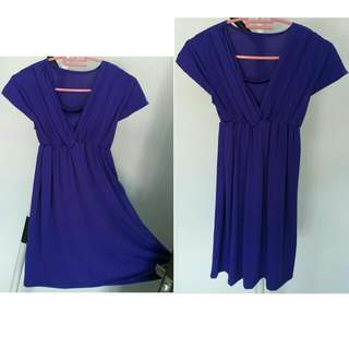🆕New Purple Dress/ Top (with FREE Legging)