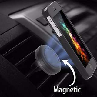 Universal magnetic Car air vent mount holder stand phone support mobile cellphones