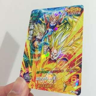 🐲鳥山明老師🐉龍珠❤️悟空三個 超級卡Game 第九代 全新