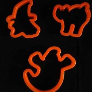 Cookie, Dough and Fondant Cutters From U.S. ( Halloween - 1)