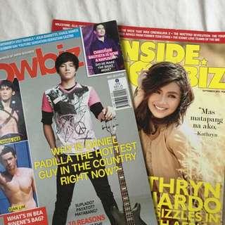 Inside Showbiz Magazines