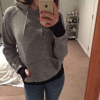 grey and black jumper - medium