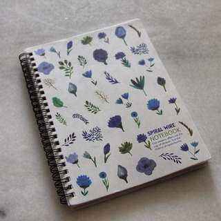 Wire Spiral Bound Notebook (Lined paper) A5 size