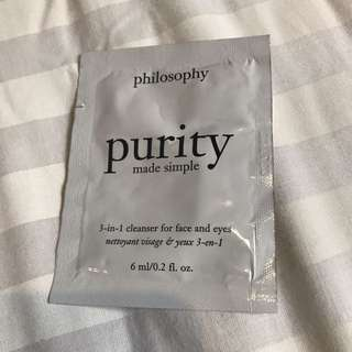 Philosophy 3in1 Cleanser For Eyes And Face