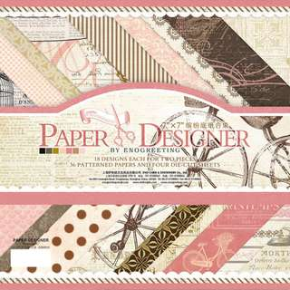 DESIGNER SERIES 06  Scrapbook Papers DIY Card Making