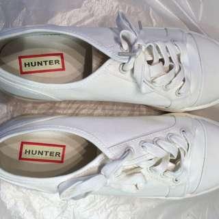 Hunter White Sneakers
